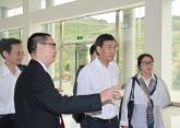 省高院纪检组长刘鸣一行莅临荥经法院视察工作