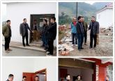 区级领导赵峰到南郊乡昝村督导扶贫攻坚工作