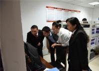 名山区法院刑事诉讼涉案财务管理处置工作接受省委政法委专项检查