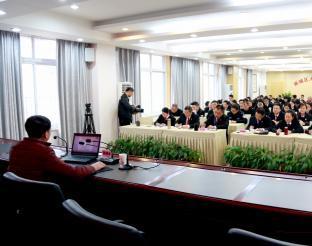 区直机关宣讲分团第十二场党的十九大精神宣讲会在雨城区法院举行