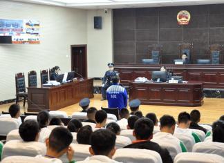 公众开放日:名山区法院邀请学生代表近距离感受法律